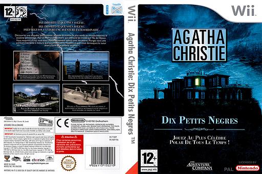 Agatha Christie:Dix Petits Negres pochette Wii (RQTP6V)