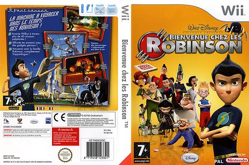 Bienvenue chez les Robinson pochette Wii (RRSX4Q)