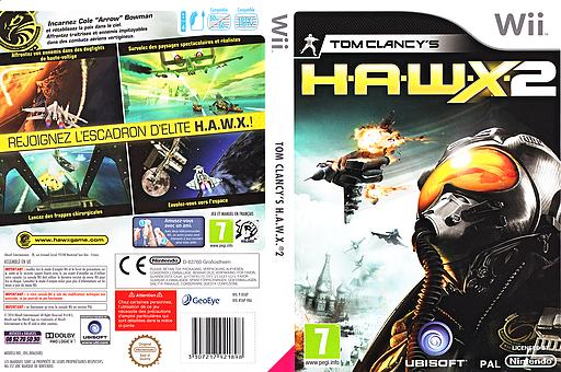 Tom Clancy's H.A.W.X. 2 pochette Wii (RTAP41)