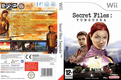 Secret Files : Tunguska pochette Wii (RTUPKM)