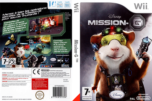 Mission-G pochette Wii (RUEY4Q)