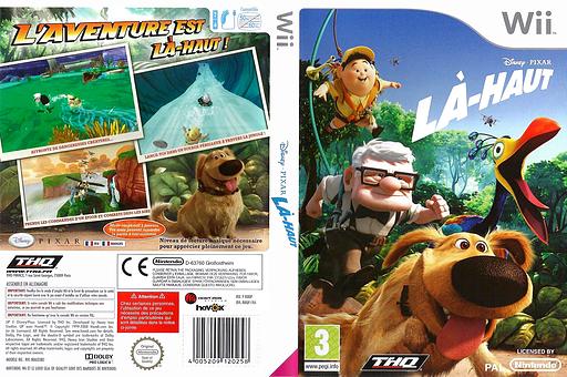 Là-Haut pochette Wii (RUQP78)