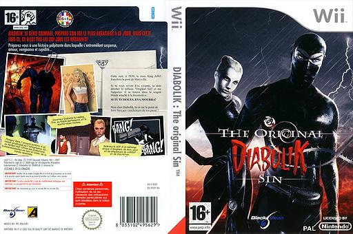 Diabolik:The Original Sin pochette Wii (RVDPLG)