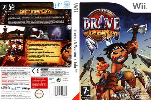 Brave : A Warrior's Tale pochette Wii (RWXPS5)