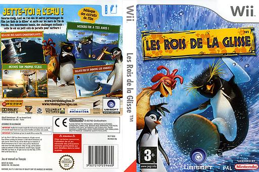 Les Rois de la Glisse pochette Wii (RXUP41)
