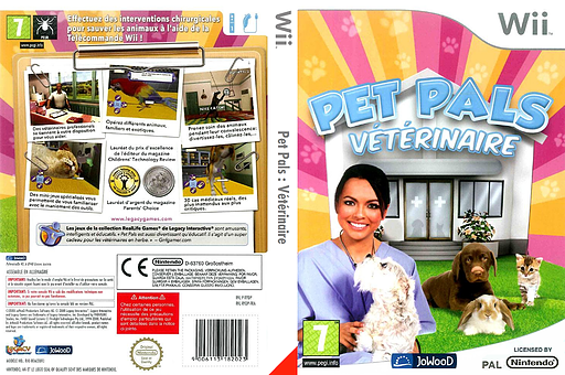 Pet Pals: Vétérinaire pochette Wii (RYDP6V)