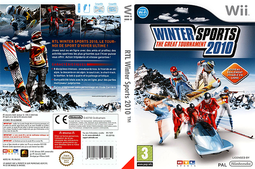 Winter Sports 2010 : The Great Tournament pochette Wii (RZIPRT)
