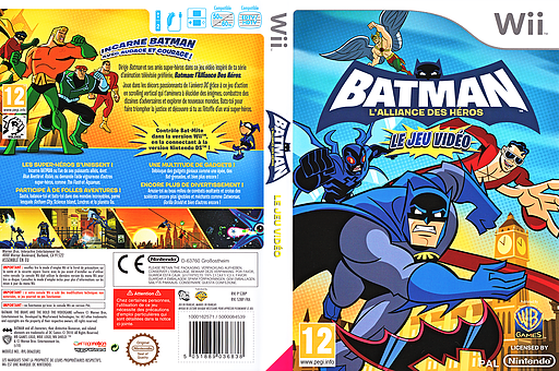 Batman: L'Alliance des Héros pochette Wii (S3BPWR)