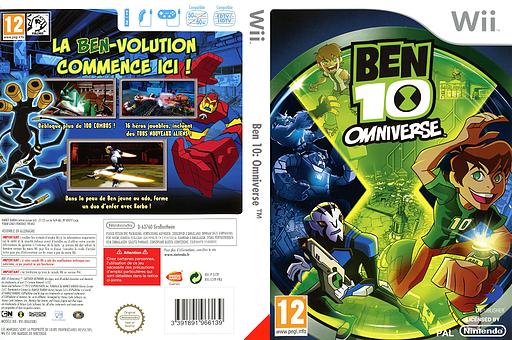 Ben 10: Omniverse pochette Wii (S5TPAF)