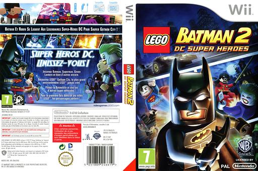 Lego batman 2 : dc super heroes pochette wii (s7apwr)