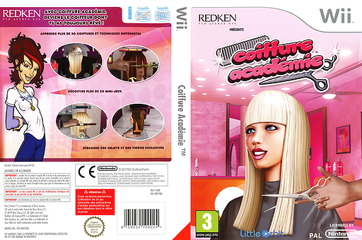 Coiffure Académie pochette Wii (SBIPVZ)