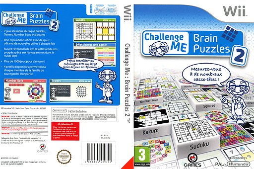 Challenge Me:Brain Puzzles 2 pochette Wii (SC6PGN)