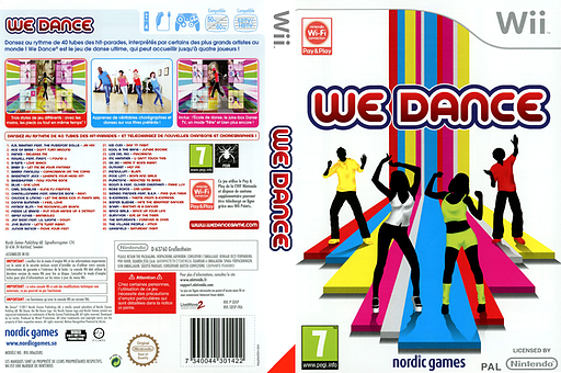 We Dance pochette Wii (SDSPNG)
