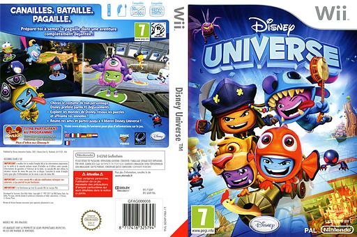 Disney Universe pochette Wii (SDXP4Q)