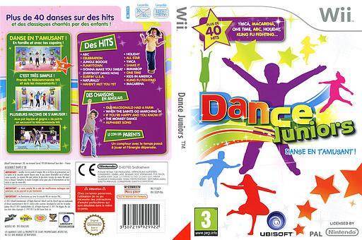 Dance Juniors pochette Wii (SDZP41)