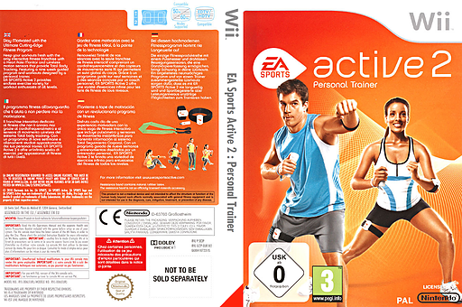 EA Sports Active 2 pochette Wii (SE2P69)