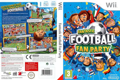 Fantastic Football Fan Party pochette Wii (SFPPFR)