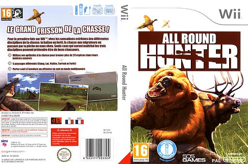 All Round Hunter pochette Wii (SFSPGT)