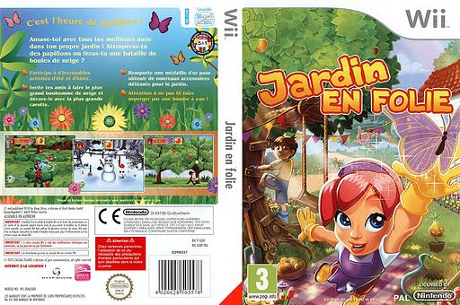 Jardin en folie pochette Wii (SGDPKM)