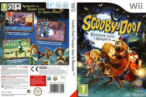 Scooby-Doo! Panique dans la Marmite pochette Wii (SJ2PWR)