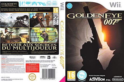 GoldenEye 007 pochette Wii (SJBP52)