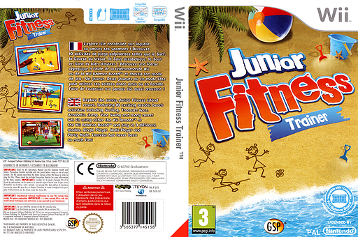 Junior Fitness Trainer pochette Wii (SJFPGR)