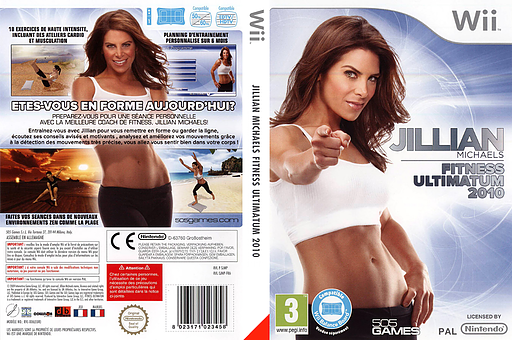 Jillian Michaels Fitness Ultimatum 2010 pochette Wii (SJMPGT)