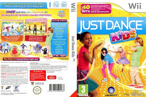 Just Dance Kids pochette Wii (SJZP41)