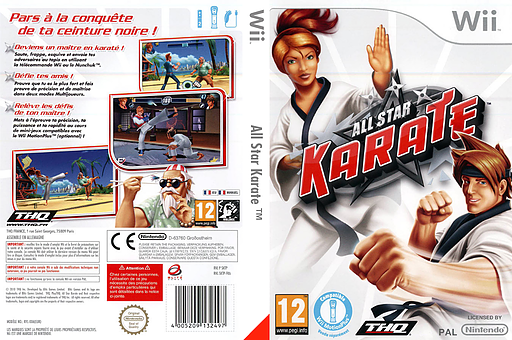 All Star Karate pochette Wii (SKTP78)