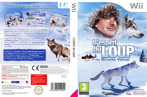 L'esprit du Loup pochette Wii (SLPP5D)