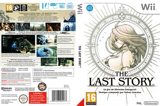 The Last Story pochette Wii (SLSP01)