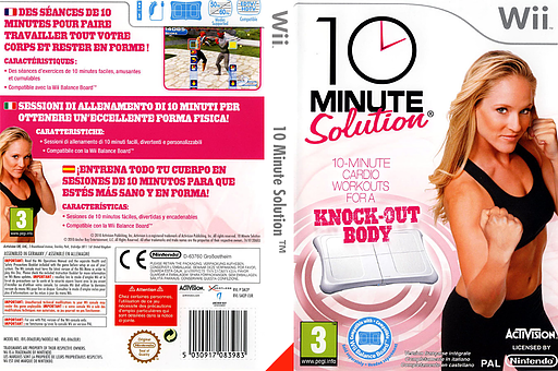 10 Minute Solution pochette Wii (SM2P52)