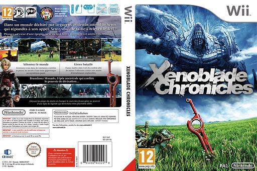 Xenoblade Chronicles pochette Wii (SX4P01)