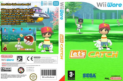 Let's Catch pochette WiiWare (W2KP)