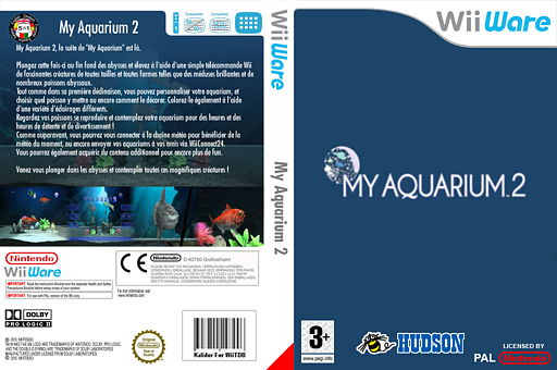 My Aquarium 2 pochette WiiWare (W2OP)