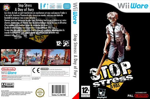 Stop Stress:A Day of Fury pochette WiiWare (W44P)