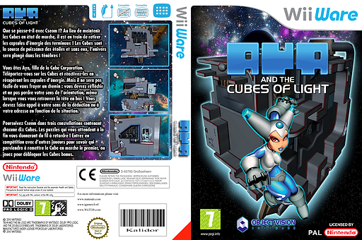 Aya and the Cubes of Light pochette WiiWare (WAAP)