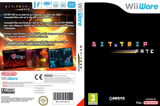 Bit.Trip Fate pochette WiiWare (WBFP)