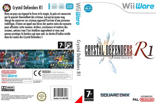 Crystal Defenders R1 pochette WiiWare (WCIP)
