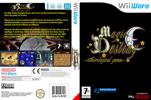 Magic Destiny Astrological Games pochette WiiWare (WDEP)