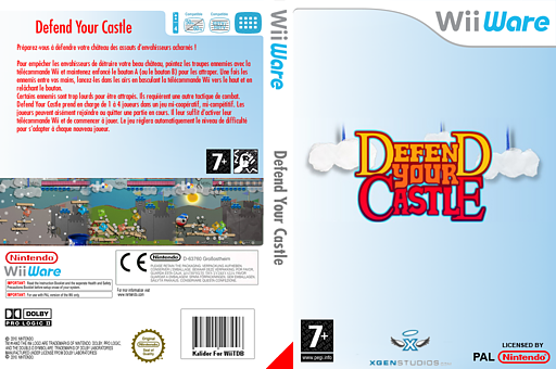 Defend your Castle pochette WiiWare (WDFP)