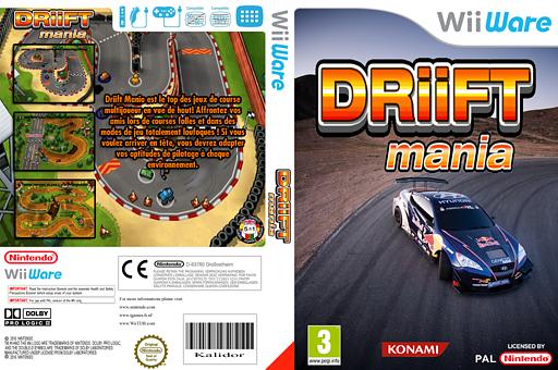 Driift Mania pochette WiiWare (WDOP)
