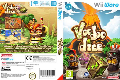 Voodoo Dice pochette WiiWare (WDVP)