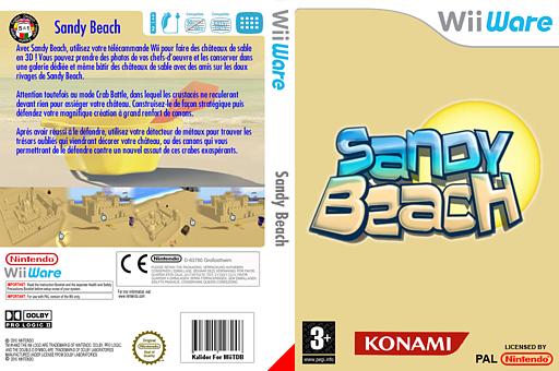 Sandy Beach pochette WiiWare (WFBP)
