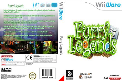 Furry Legends pochette WiiWare (WFUP)