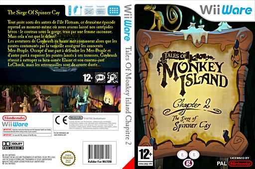 Tales of Monkey Island Chapter 2:The Siege of Spinner Cay pochette WiiWare (WISP)
