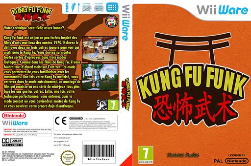 Kung Fu Funk: Everybody Is Kung Fu Fighting pochette WiiWare (WKFP)