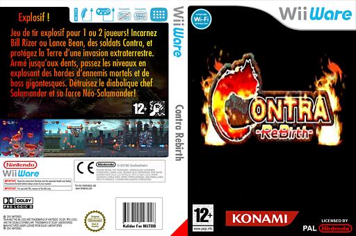 Contra ReBirth pochette WiiWare (WKTP)