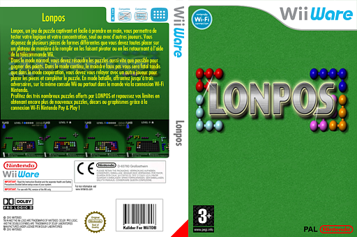 Lonpos pochette WiiWare (WLPP)