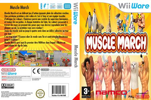 Muscle March pochette WiiWare (WMMP)